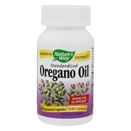 Nature's Way - Oregano Oil Standardized Extract - 60 Vegetarian Capsules