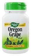 Nature's Way - Oregon Grape Root 475 mg. - 100 Capsules, from category: Herbs
