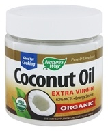 Nature's Way - EfaGold Organic Pure Extra Virgin Coconut Oil - 16 oz. LUCKY DEAL by Nature's Way