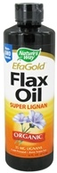 Image of Nature's Way - Organic Liquid Flax Oil Super Lignan - 16 oz.