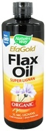 Nature's Way - Organic Liquid Flax Oil Super Lignan - 24 oz. by Nature's Way