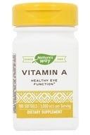Nature's Way - Vitamin A 10000 IU - 100 Softgels