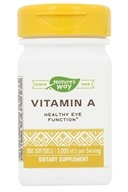 Nature's Way - Vitamin A 10000 IU - 100 Softgels by Nature's Way