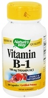 Image of Nature's Way - Vitamin B1 100 mg. - 100 Capsules