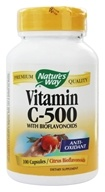 Nature's Way - Vitamin C 500 with Bioflavonoids - 100 Capsules - $5.94