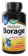 Nature's Way - Borage Oil 1300 mg. - 60 Softgels, from category: Nutritional Supplements