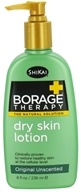 Shikai - Borage Therapy Dry Skin Lotion Original Unscented - 8 oz.