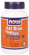 Image of NOW Foods - Oat Fiber Plus - 100 Tablets