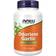 NOW Foods - Odorless Garlic 50 mg. - 250 Softgels