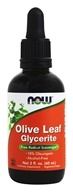 NOW Foods - Olive Leaf 18% Std Glycerite - 2 oz.