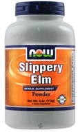 NOW Foods - Slippery Elm Powder, Vegetarian - 4 oz.