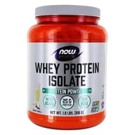 NOW Foods - Whey Protein Isolate Vanilla - 1.8 lbs. - $36.99