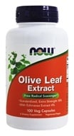 NOW Foods - Olive Leaf Extract with Echinacea Vegetarian 500 mg. - 100 Vegetarian Capsules (733739047465)