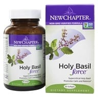 New Chapter - Holy Basil Force - 60 Softgels