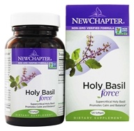 Image of New Chapter - Supercritical Holy Basil - 120 Softgels