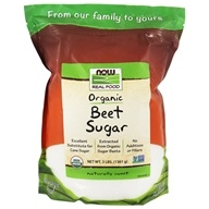 NOW Foods - Beet Sugar - 3 lbs. (733739069108)