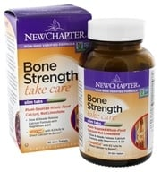 New Chapter - Bone Strength Take Care - 60 Tablets, from category: Nutritional Supplements