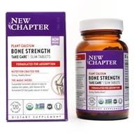 New Chapter - Bone Strength Take Care - 120 Slim Tablets, from category: Nutritional Supplements