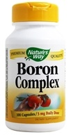 Nature's Way - Boron Chelate- Certified Potency - 100 Capsules by Nature's Way