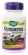 Nature's Way - Gymnema Standardized Extract - 60 Capsules