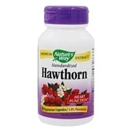 Nature's Way - Hawthorn Standardized Extract - 90 Capsules (033674619001)