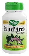 Image of Nature's Way - Pau D'Arco Inner Bark 545 mg. - 100 Capsules