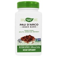 Nature's Way - Pau d'Arco Inner Bark 545 mg. - 180 Capsules, from category: Herbs