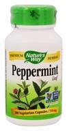 Image of Nature's Way - Peppermint Leaves 400 mg. - 100 Capsules