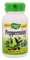 Nature's Way - Peppermint Leaves 400 mg. - 100 Capsules - $3.74