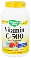 Nature's Way - Vitamin C-500 with Rose Hips - 250 Capsules (033674403112)