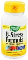 Nature's Way - B-Stress Formula with Siberian Eleuthero - 60 Capsules by Nature's Way