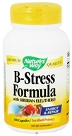 Nature's Way - B-Stress with Siberian Eleuthero Ginseng - 100 Capsules