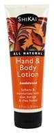 Shikai - Hand & Body Lotion Sandalwood - 8 oz. by Shikai