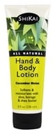 Shikai - Hand & Body Lotion Cumcumber Melon - 8 oz. by Shikai