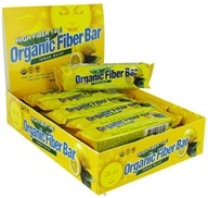 Image of ReNew Life - Organic Fiber Bar Lemon Burst - 1.76 oz.