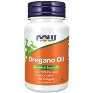 NOW Foods - Oregano Oil Enteric Coated - 90 Softgels, from category: Herbs