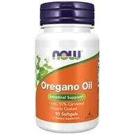 NOW Foods - Oregano Oil Enteric Coated - 90 Softgels - $9.25