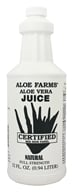Image of Aloe Farms - Organic Aloe Vera Juice - 32 oz.