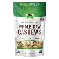 NOW Foods - Organic Cashews - 10 oz.