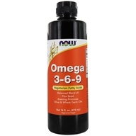 NOW Foods - Omega 3-6-9 Essential Fatty Acids - 16 oz.