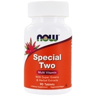 NOW Foods - Special Two High Potency Multiple Vitamin - 90 Tablets (733739038623)