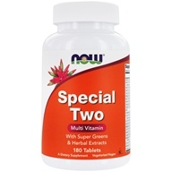 NOW Foods - Special Two High Potency Multiple Vitamin - 180 Tablets (733739038647)