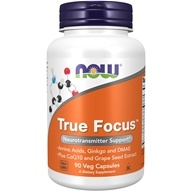 Image of NOW Foods - True Focus - 90 Vegetarian Capsules