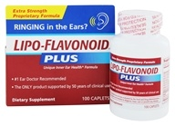 DSE Healthcare Solutions - LipoFlavonoid Plus Extra Strength Unique Ear Health Formula - 100 Caplets, from category: Nutritional Supplements