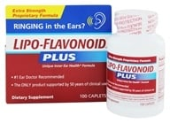 DSE Healthcare Solutions - LipoFlavonoid Plus Extra Strength Unique Ear Health Formula - 100 Caplets - $24.85