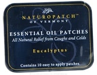 Natural Patches of Vermont - Aromatherapy Body Patch Essential Oil Blend Eucalyptus - 10 Patch(es) Formerly Naturopatch