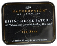 Natural Patches of Vermont - Aromatherapy Body Patch Essential Oil Blend Tea Tree - 10 Patch(es) Formerly Naturopatch - $11.45
