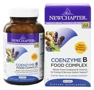 New Chapter - Organics Coenzyme B Food Complex - 90 Tablets - $25.17
