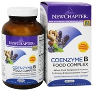 New Chapter - Organics Coenzyme B Food Complex - 180 Tablets - $37.17
