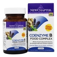 New Chapter - Organics Coenzyme B Food Complex - 30 Tablets